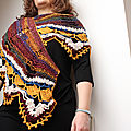 Open space shawl ~ sylvie damey