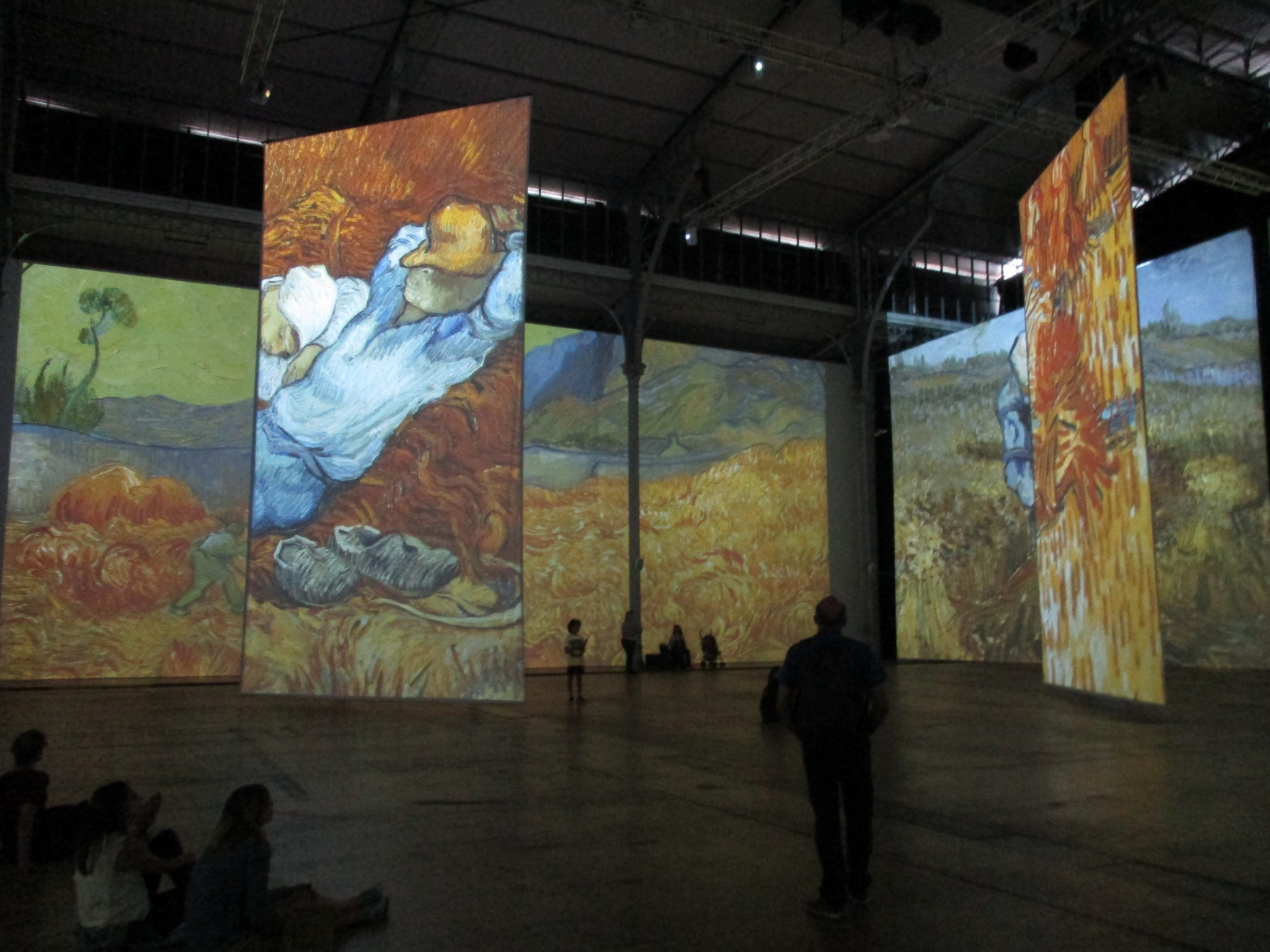 Imagine Van Gogh - La Vilette - IMG_1134