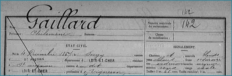 GAILLARD Philomène - FM