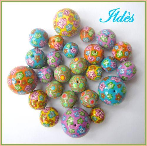 Perles fleuries