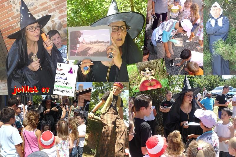 Les aventures de BIDULE à Puydaniel 29 juillet 07