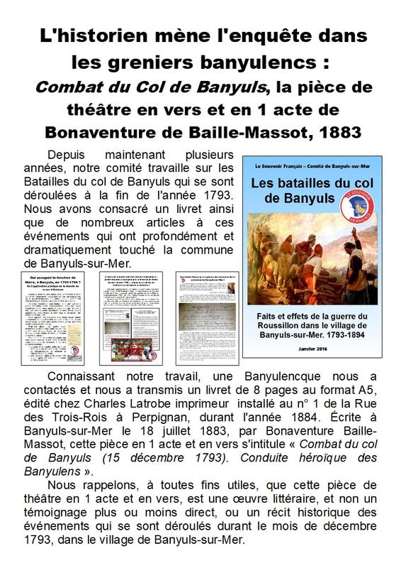 10) Combat du col de Banyuls - Page 1