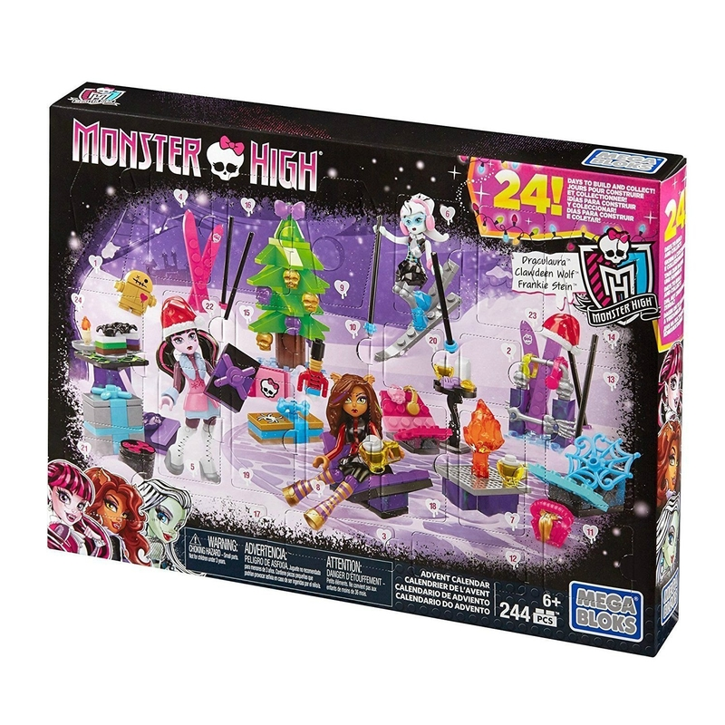calendrier avent préado - lego MONSTER HIGH - 1