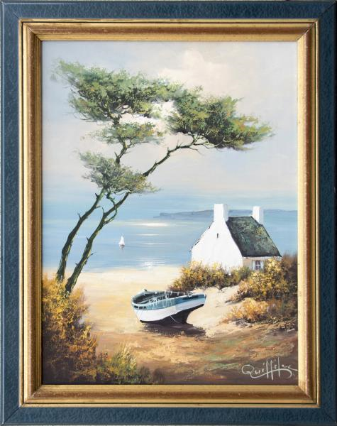 Auction Yvan Queffelec 61x46cm le 6 avril 2018