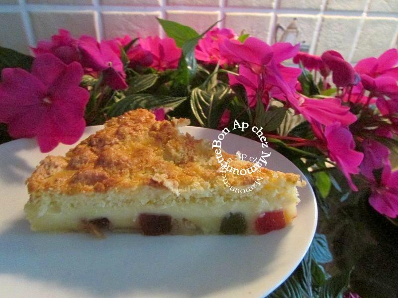gâteau 3 D aux fruits confits et arôme amande amère 014