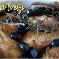 Poulet aux olives noires et au noilly prat
