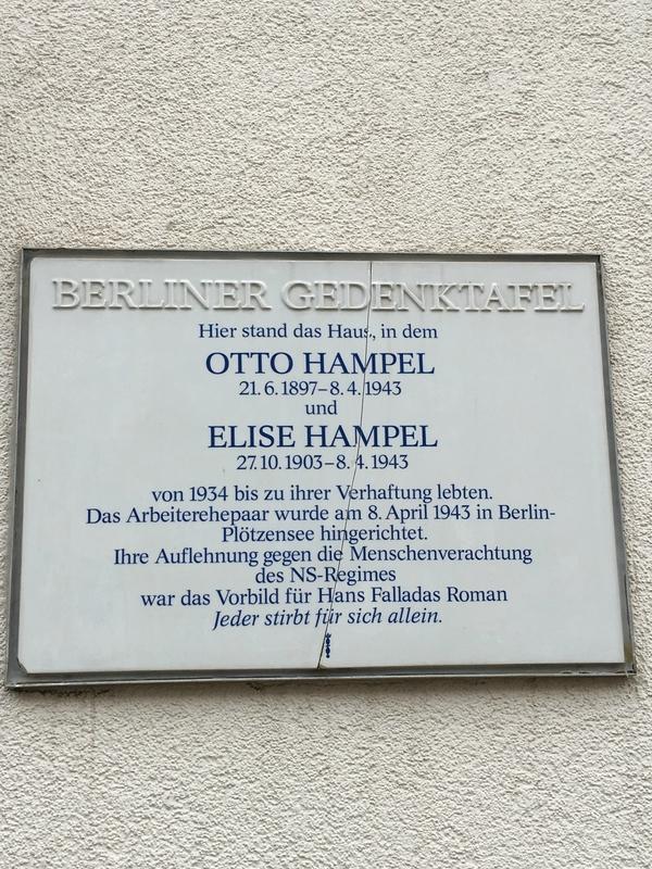 Elise et Otto Hampel 2