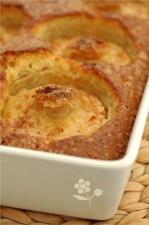 Gâteau aux pommes & confit citron-amande_3