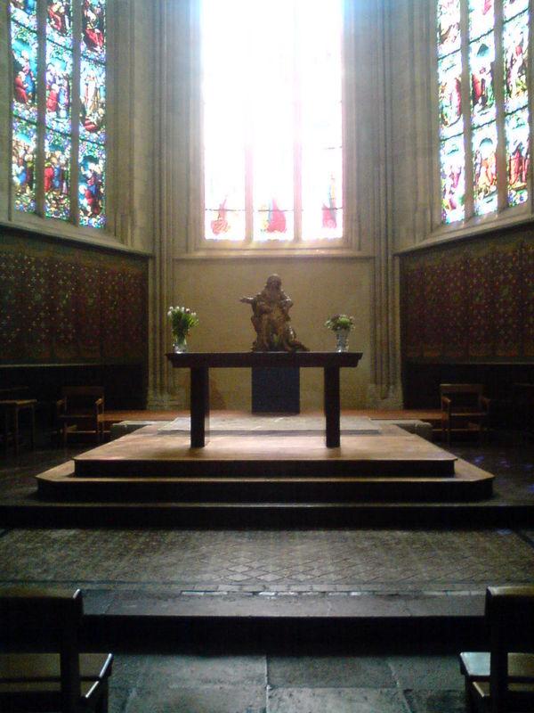 Eglise St Pierre, le choeur