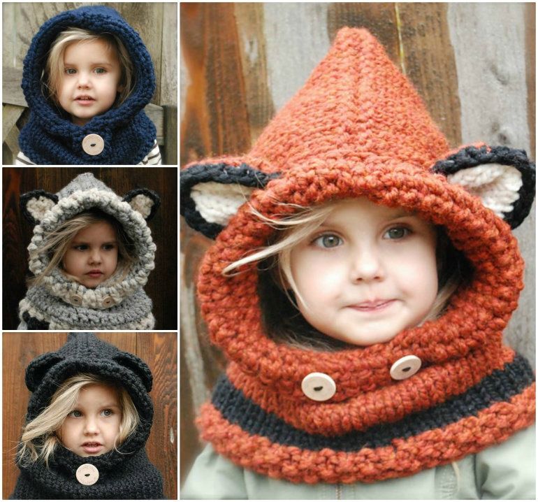 Crochet-and-Knitted-Cowls