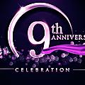 Joyeux 9ème anniversaire!!