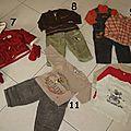 Vêtements garçon 18 mois