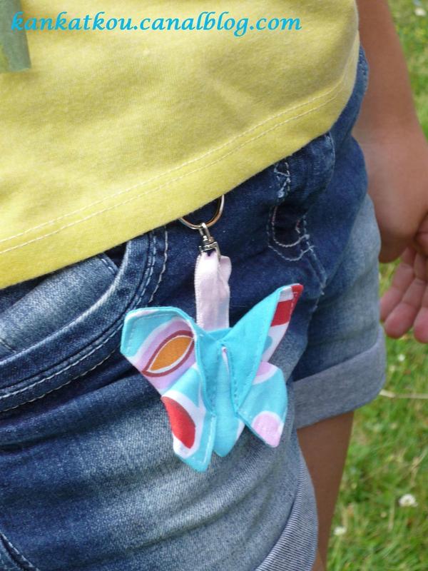 P1190956 porte-clé papillon