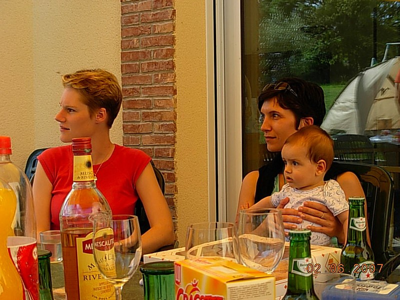 July, Zalouette et BB. Samuel