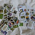 timbres reçus Kriss 07