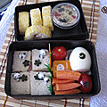 Bento #05 (egg maki, omelette, thon, tuna and cute panda)
