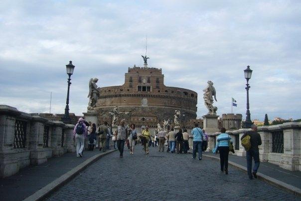 rome castel san angelo pont aux anges