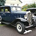Citroën rosalie 10l berline 1933