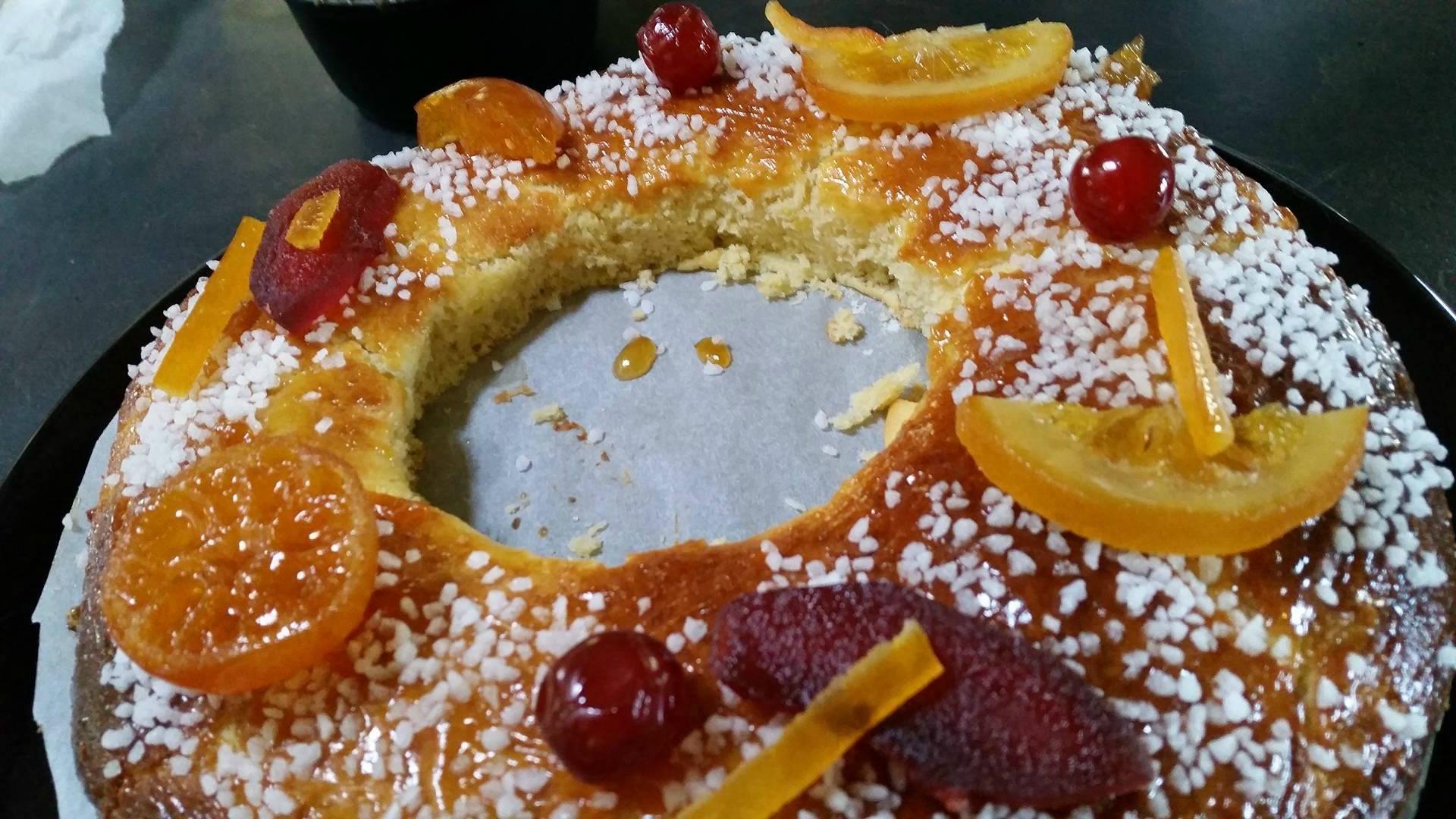 Gâteau des rois brioché