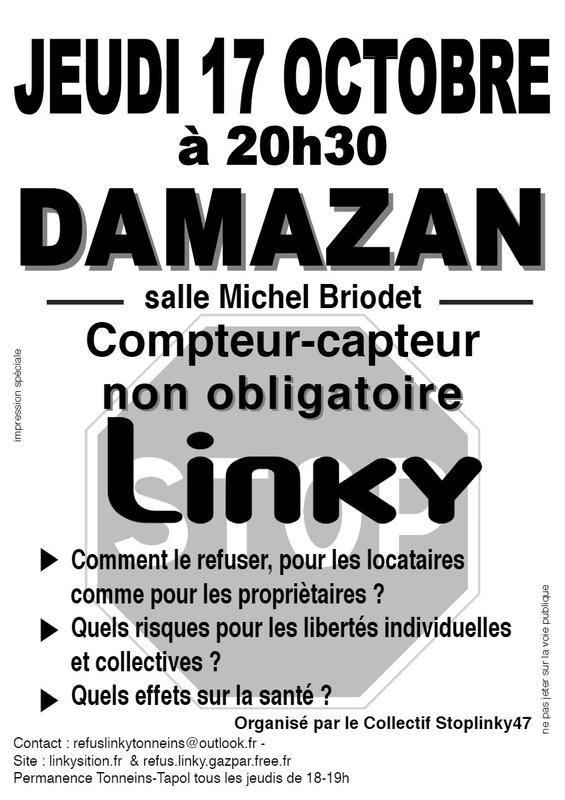 Conférence Damazan