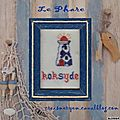 Broderie: le phare