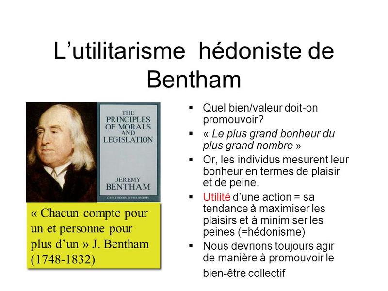 L'utilitarisme+hédoniste+de+Bentham