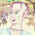 Jane au restaurant bio La Casita Verde