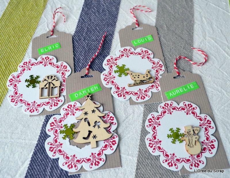 etiquettes cadeaux de noel blogorel