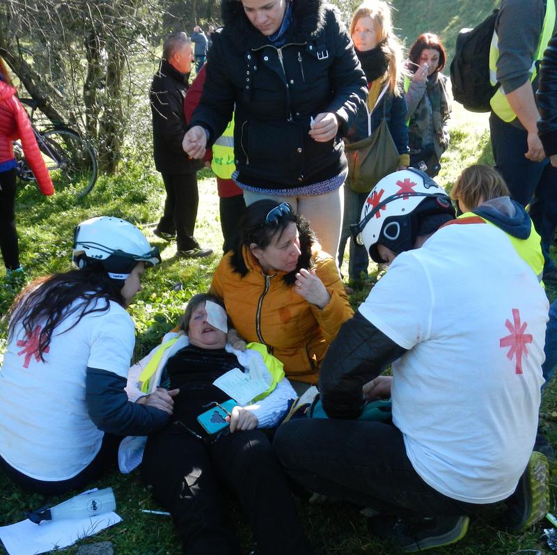 blessée 5 fevrier alès