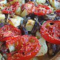 Tava ( agneau au four, pommes de terre au cumin et tomates )