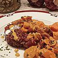 Curry de légumes racines et son riz rouge parsemé de menthe fraîche !