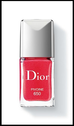 dior glowing gardens vernis ongles pivoine