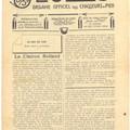 Le son du cor, n° 9 de janvier 1916.