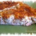 Tarte endives et saumon