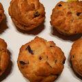 Muffins olives noires et parmesan