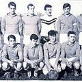 Séniors a 1967-1968 champions 2ème div.