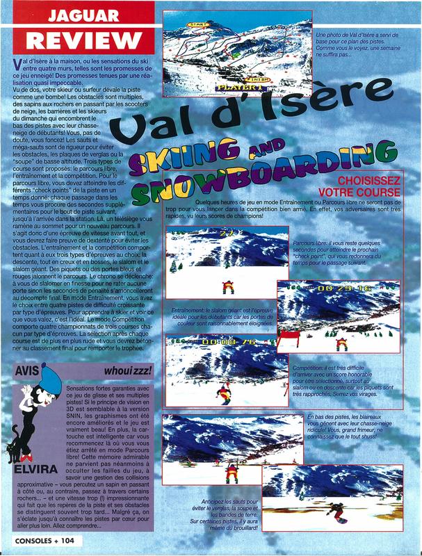 Consoles + 039 - Page 104 (janvier 1995)