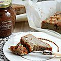Gâteau fondant pommes-marrons, simple et délicieux {recette}