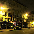 La nuit, à paris..