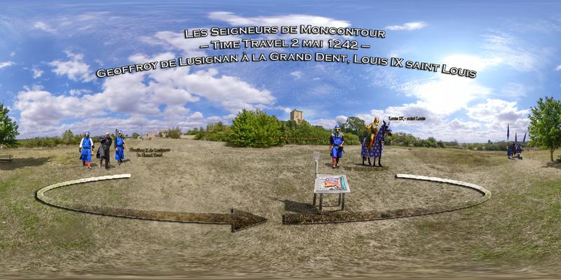 Les Seigneurs de Moncontour – Time Travel 2 mai 1242 – Geoffroy de Lusignan à la Grand Dent, Louis IX saint Louis