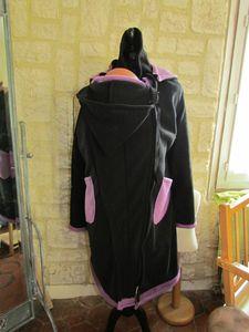 manteau de portage 3 en 1 noir violet (3)