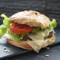 Burger canard fromage de brebis