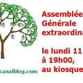 Assemblée générale extraordinaire de l' association des rives du blosne pour le respect de l'environnement (a.r.b.r.e.).