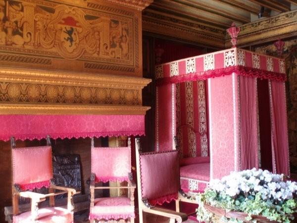 Chenonceau, la chambre de César de Vendôme