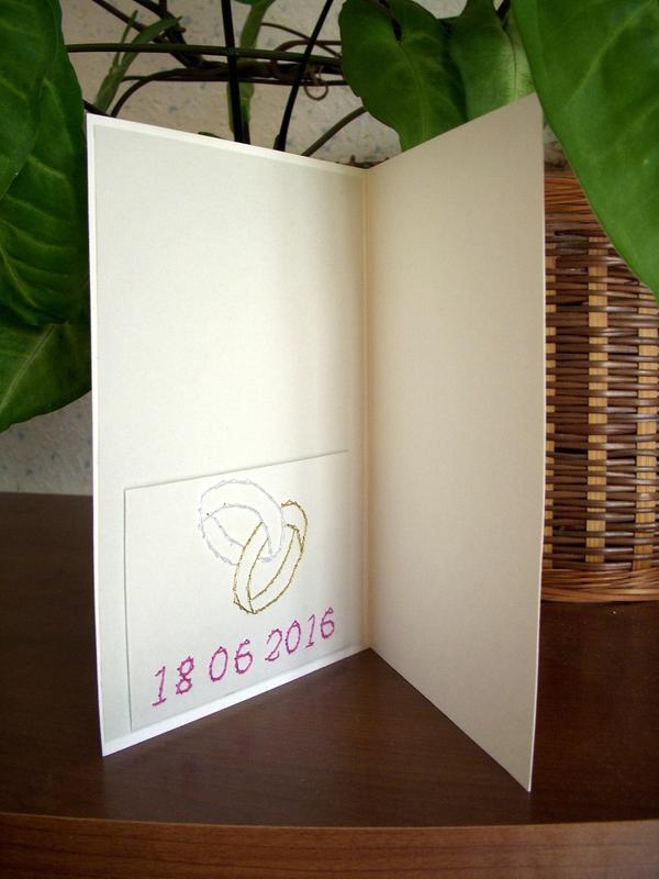 carte mariage Amandine & Sébastien (intérieur)