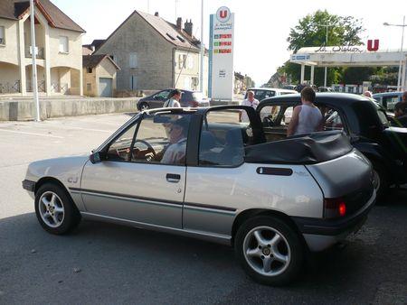 PEUGEOT 205 CJ cabriolet 1991 Bletterans (2)