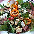 ma salade de juillet