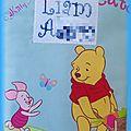 protège carnet de santé Winnie l'ourson