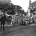 11 02 Caen, Festivités du Retour des Poilus le 13 septembre 1919, Rassemblement des troupes