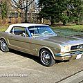 Ford mustang cabrilet de 1966 (Retrorencard mars 2013) 01